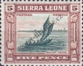 Stamp Sierra Leone Catalog number: 137