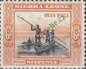 Stamp Sierra Leone Catalog number: 138