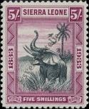 Stamp Sierra Leone Catalog number: 141