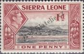 Stamp Sierra Leone Catalog number: 152