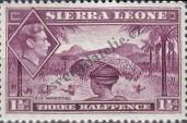 Stamp Sierra Leone Catalog number: 154