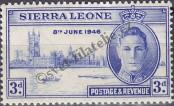 Stamp Sierra Leone Catalog number: 168