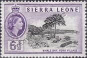 Stamp Sierra Leone Catalog number: 182