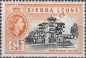 Stamp Sierra Leone Catalog number: 188