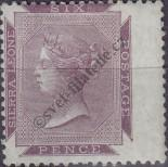 Stamp Sierra Leone Catalog number: 1/a