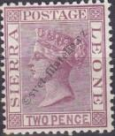 Stamp Sierra Leone Catalog number: 4