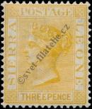 Stamp Sierra Leone Catalog number: 5