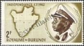 Stamp Burundi Catalog number: 27/A