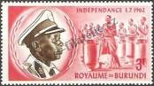 Stamp Burundi Catalog number: 28/A
