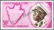 Stamp Burundi Catalog number: 33/A