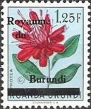 Stamp Burundi Catalog number: 9