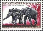 Stamp Burundi Catalog number: 13