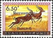 Stamp Burundi Catalog number: 18