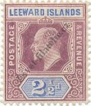 Stamp Leeward Islands Catalog number: 32