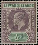 Stamp Leeward Islands Catalog number: 20