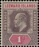 Stamp Leeward Islands Catalog number: 21