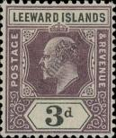 Stamp Leeward Islands Catalog number: 24