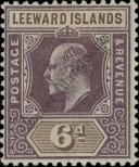 Stamp Leeward Islands Catalog number: 25