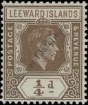 Stamp Leeward Islands Catalog number: 87