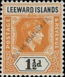 Stamp Leeward Islands Catalog number: 93