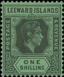 Stamp Leeward Islands Catalog number: 101
