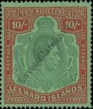 Stamp Leeward Islands Catalog number: 104