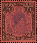 Stamp Leeward Islands Catalog number: 105
