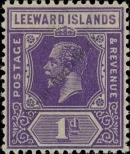 Stamp Leeward Islands Catalog number: 61