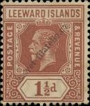 Stamp Leeward Islands Catalog number: 63