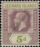 Stamp Leeward Islands Catalog number: 70