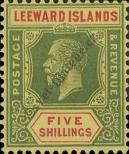 Stamp Leeward Islands Catalog number: 77