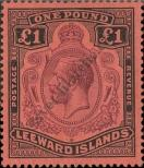 Stamp Leeward Islands Catalog number: 79