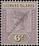 Stamp Leeward Islands Catalog number: 5