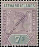 Stamp Leeward Islands Catalog number: 6