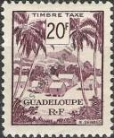 Stamp Guadeloupe Catalog number: 50