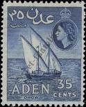 Stamp Aden Catalog number: 53