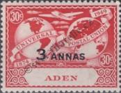 Stamp Aden Catalog number: 34