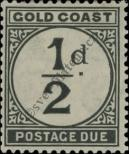 Stamp Gold Coast Catalog number: P/1