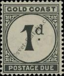 Stamp Gold Coast Catalog number: P/2