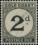 Stamp Gold Coast Catalog number: P/3