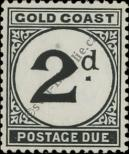 Stamp Gold Coast Catalog number: P/5