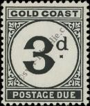 Stamp Gold Coast Catalog number: P/6