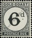 Stamp Gold Coast Catalog number: P/7