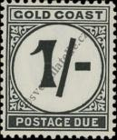 Stamp Gold Coast Catalog number: P/8