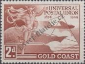 Stamp Gold Coast Catalog number: 134