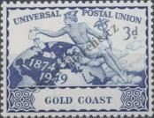 Stamp Gold Coast Catalog number: 136