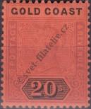 Stamp Gold Coast Catalog number: 21