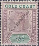 Stamp Gold Coast Catalog number: 22
