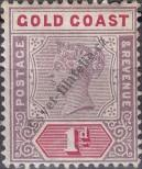 Stamp Gold Coast Catalog number: 23
