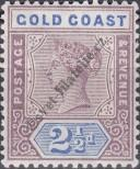 Stamp Gold Coast Catalog number: 25